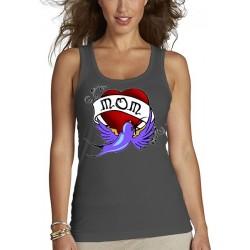"""Camiseta día de la madre """"Mom Heart"""" tirantes"""