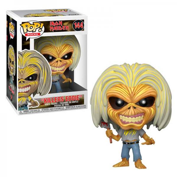 Funko Pop Iron Maiden Killers Eddie
