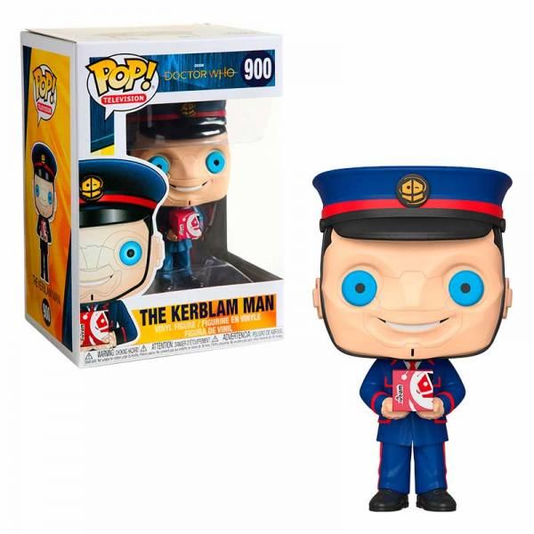 Funko Pop Doctor Who The Kerblam Man