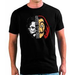 Camiseta Hombre Bella Ciao La Casa de Papel
