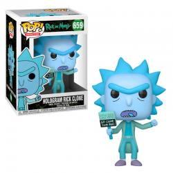 Funko Pop Rick and Morty Hologram Rick Clone