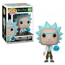 Funko Pop Rick and Morty Rick Calavera de Cristal