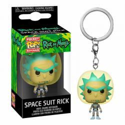 Llavero Funko Pop Rick and Morty Rick Traje Espacial