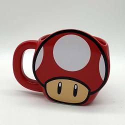 Taza Super Mario Seta Nintendo