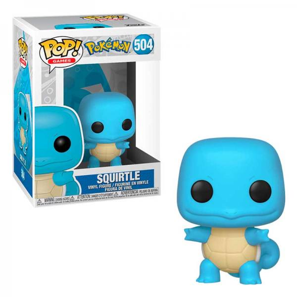 Funko Pop Pokemon Squirtle