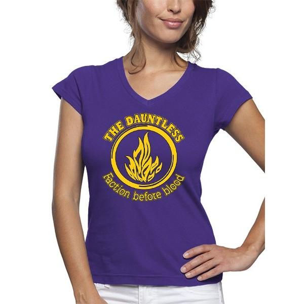 Camiseta Chica Divergente OSADIA
