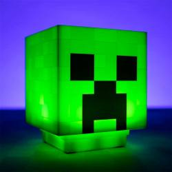 Lámpara Minecraft Creeper