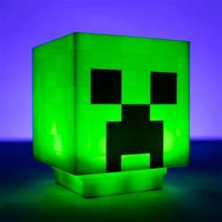 Lámpara Minecraft Creeper