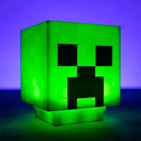Lampara Minecraft Creeper
