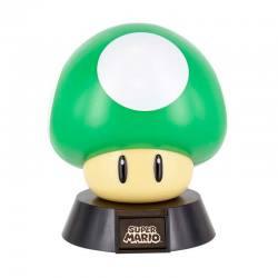 Lámpara Super Mario Champiñón Verde