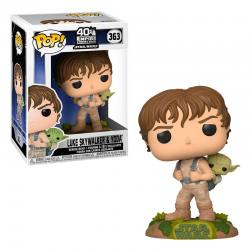 Funko Pop Luke Skywalker y Yoda