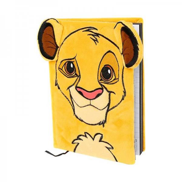 Libreta Disney El Rey León Simba de Peluche