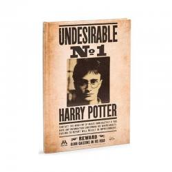 Libreta Harry Potter Indeseable Nº 1