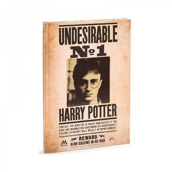 Libreta Harry Potter Indeseable Nº 1