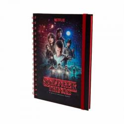 Libreta Stranger Things