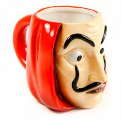 Taza La Casa de Papel Máscara Dalí