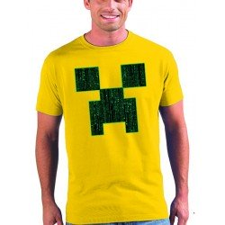 Camiseta minecraft Creeper Matrix