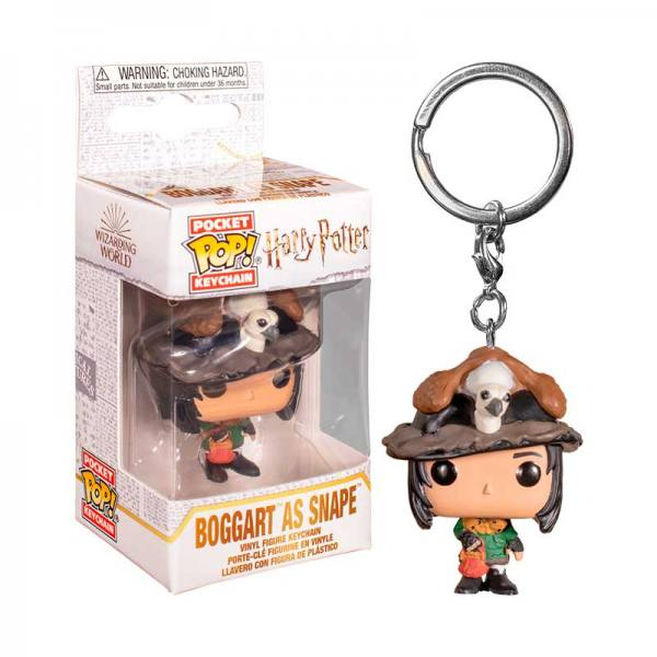 Llavero Funko Pop Snape como Boggart Harry Potter