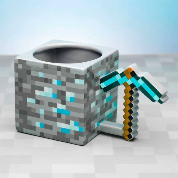 Taza Minecraft Pickaxe