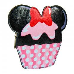 Cartera Monedero Minnie Cupcake Disney