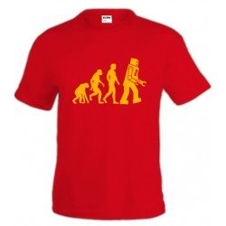 Camiseta de Sheldon Cooper - Robot Evolution -