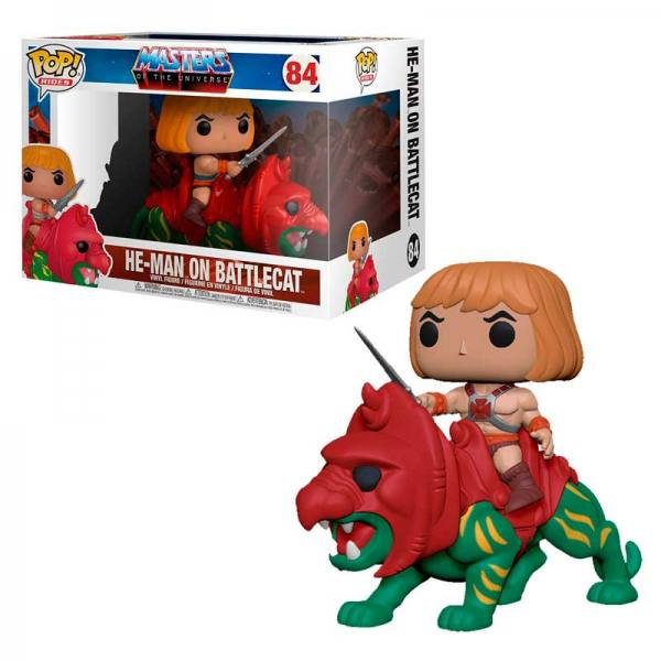 Funko Pop He-Man on Battlecat