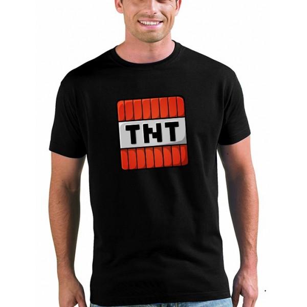 Camiseta minecraft TNT