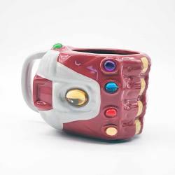 Taza 3D Nano Guantelete Iron Man