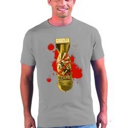 Camiseta Godzilla modelo Bomb