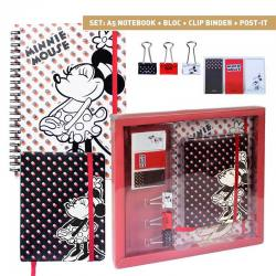 DISNEY SET PAPELERIA MINNIE MOUSE