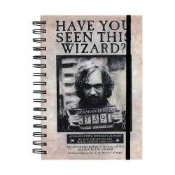 LIBRETA HARRY POTTER SIRIUS BLACK