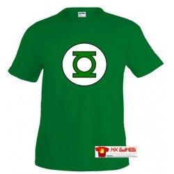 Camiseta Linterna verde ( Green Lantern )Big Bang Theory - logo clásico