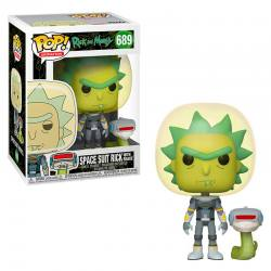 RICK AND MORTY FUNKO POP RICK TRAJE ESPACIAL