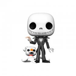 FUNKO POP JACK SKELLINGTON CON ZERO 25 CM