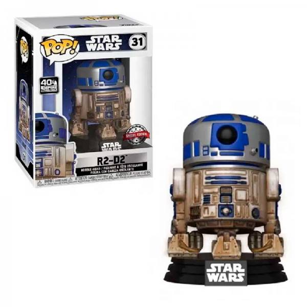 STAR WARS FUNKO POP R2-D2 DAGOBAH - EXCLUSIVO