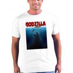 Camiseta Godzilla - Jaws