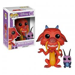 FUNKO POP DISNEY MUSHU Y GRILLO