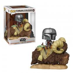 FUNKO POP THE MANDALORIAN EN BANTHA STAR WARS