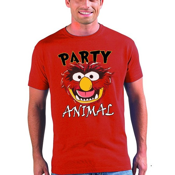 Camiseta Party Animal, The Muppets