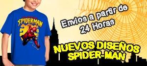 camisetas spiderman adultos y moda niños