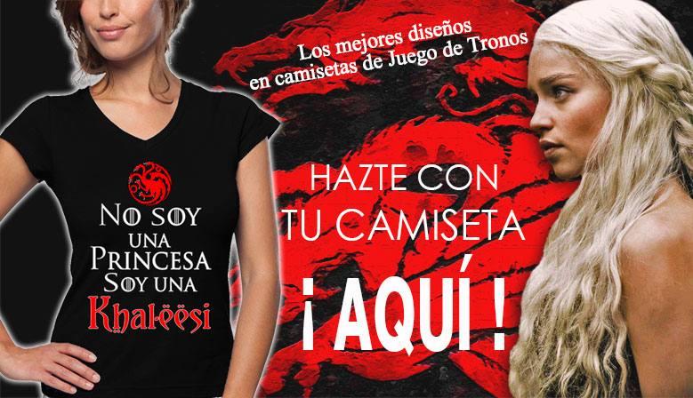 Camisetas con diseños originales de Juego de Tronos