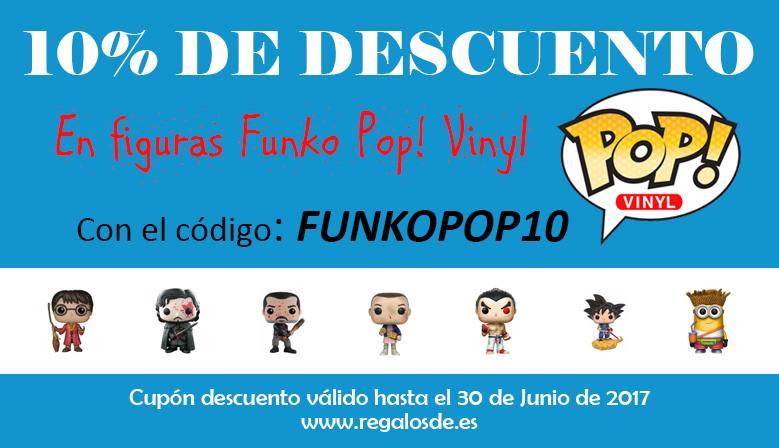 10% Descuento Figuras Funko Pop Regalosde